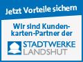 Stadtwerke Kundenkarte, Wir sind Kundenkarten-Partner der Stadtwerke Landshut